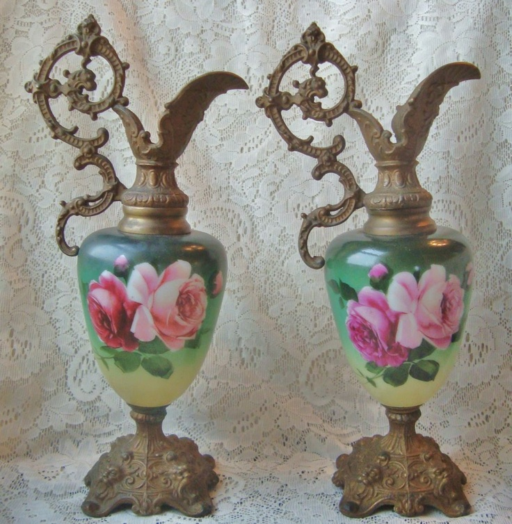 Victorian Mantle Ewers  Urns  Ewers  Pinterest  Victorian and Mantles