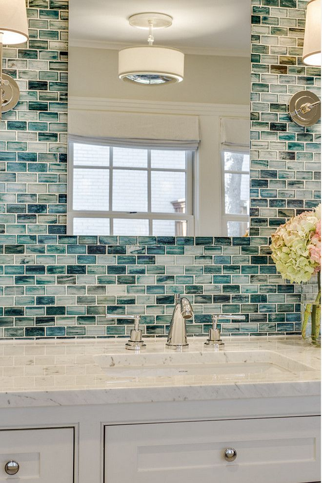 25 Best Ideas about Accent Tile Bathroom on Pinterest