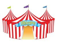 Fair Tent Clip Art Welcome tent | Funfair | Pinterest ...