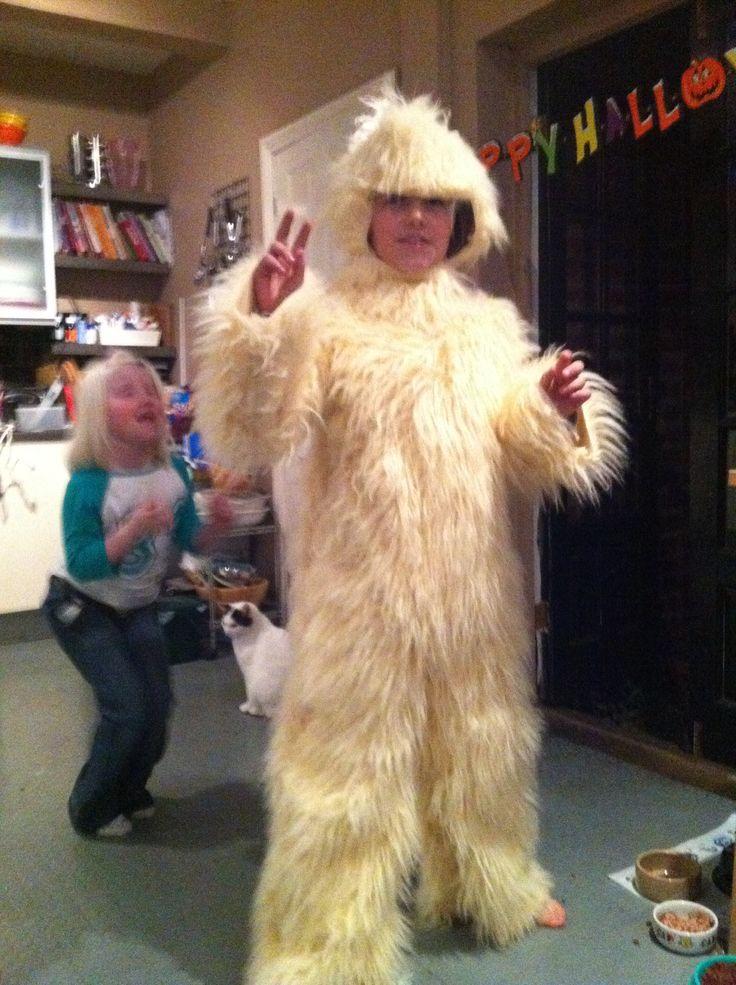 Joes yeti costume  Things what I made  Pinterest  Costumes