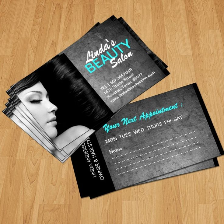37 best images about Hair Salon Business Card Templates on Pinterest  Business card templates