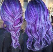 blue purple hair ideas