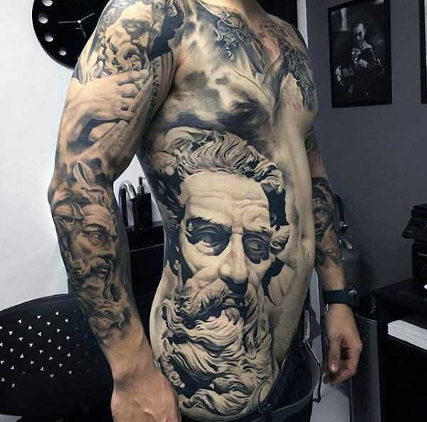 20 Greek Mens Style Tattoos Ideas And Designs