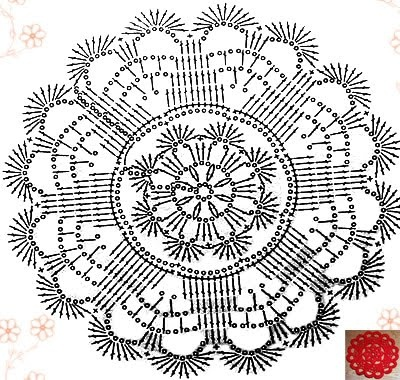17 Best images about Crochet doily 2 on Pinterest