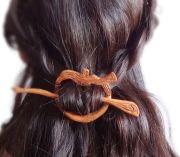 forest elf mori girl woodland hair