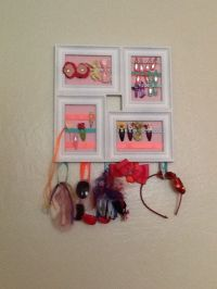 Diy hair tie holder