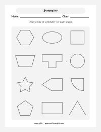 25+ best ideas about Symmetry worksheets on Pinterest ...