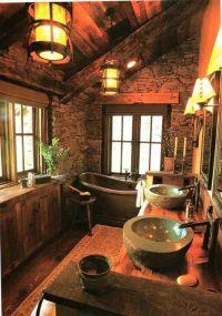 Best 25+ Log cabin bathrooms ideas on Pinterest | Cabin ...