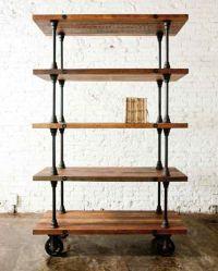 25+ best ideas about Industrial shelves on Pinterest ...