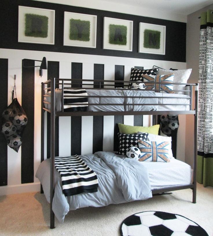 Best 25 Soccer bedroom ideas on Pinterest