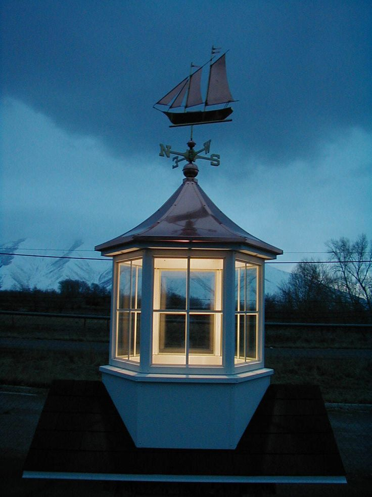 Put A Light Kit In Your Cupola Cupolas Pinterest