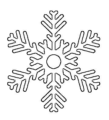 17 Best ideas about Snowflake Printables on Pinterest