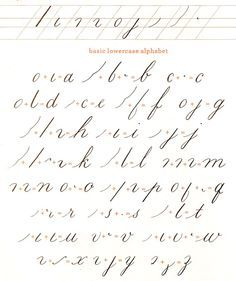 627 best images about learn calligraphy on Pinterest