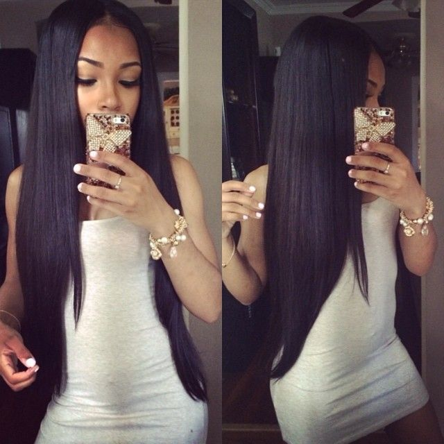 Best 25 Straight Weave Hairstyles Ideas On Pinterest Weave Bob