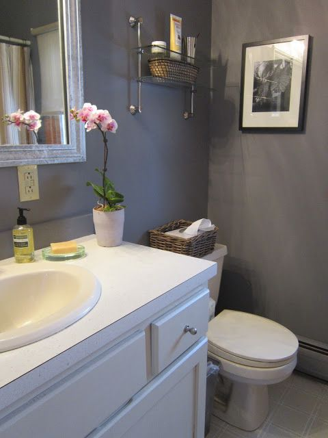 how to redo ugly apartment bathroom on a budget  House