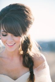 woodsy colorado wedding side