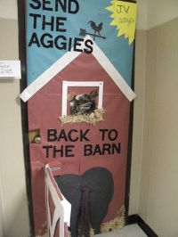 christian door decor | Homecoming Door Decorating Contest ...