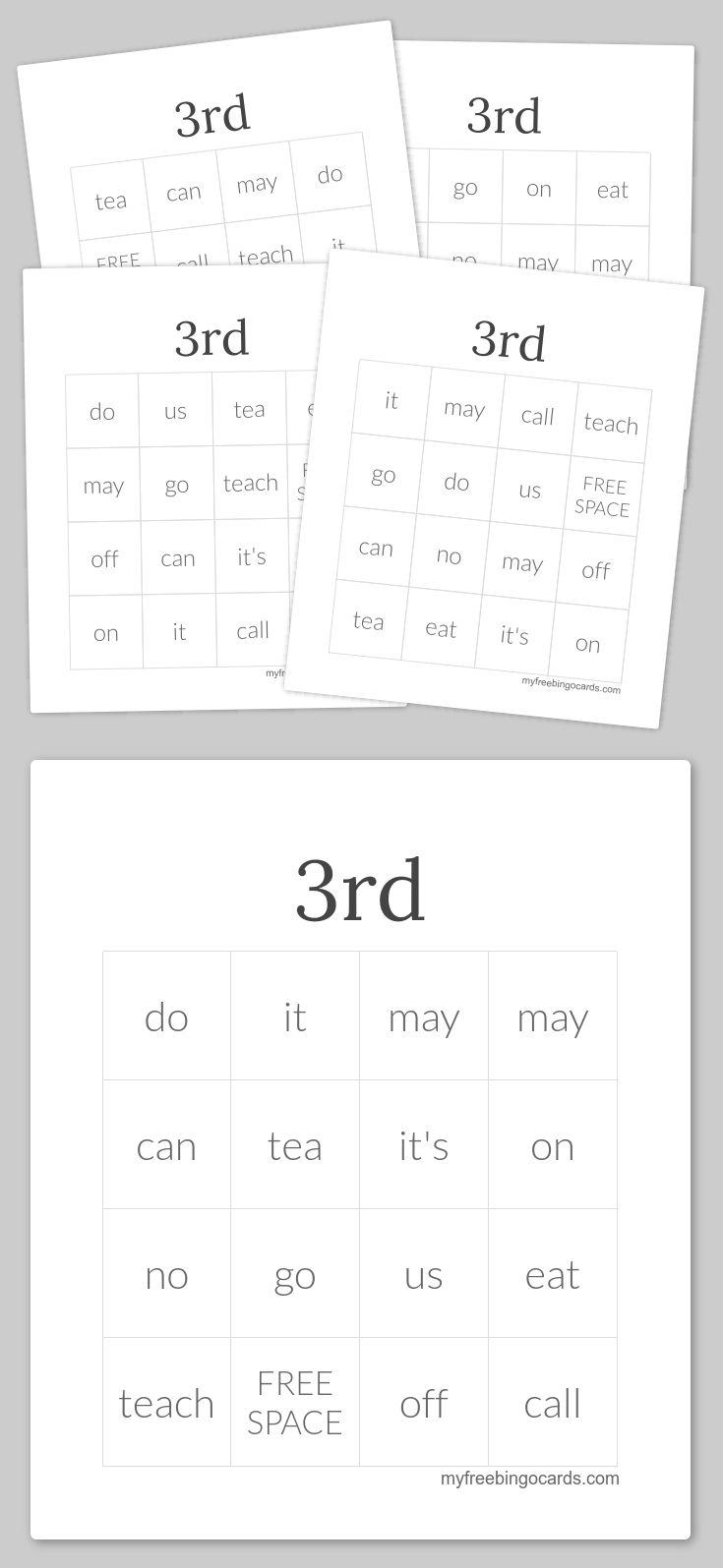 17 Best ideas about Bingo Card Generator on Pinterest