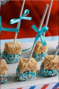 Rice Krispies Dipper Treats | Recipe | Bake sale treats ...