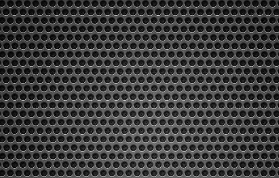 12 Black grid leather and metal pattern background  web