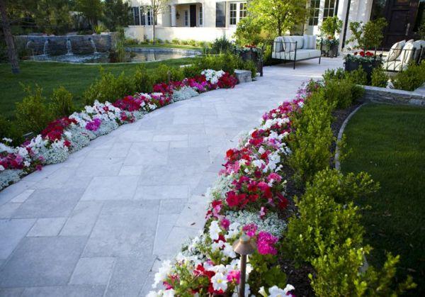 walkway landscaping
