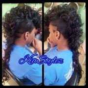 curly long mohawk hairstyles