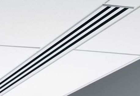 linear slot diffuser for ac/heat
