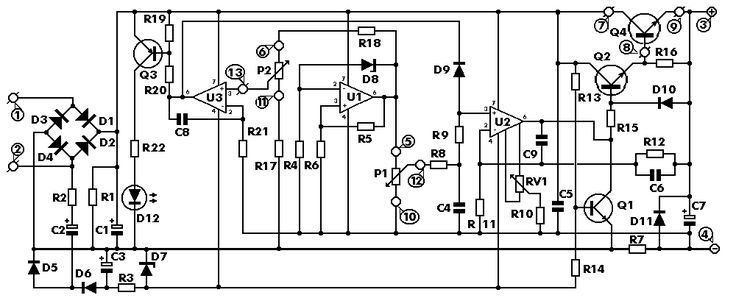 0-30 VDC STABILIZED POWER SUPPLY WITH CURRENT CONTROL 0