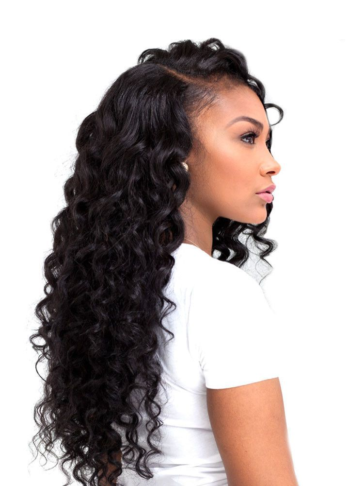 25 Best Ideas About Deep Wave Weave On Pinterest Curly Sew In