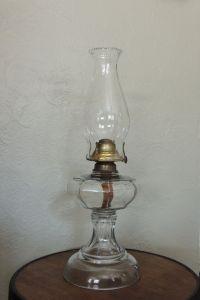 Antique Kerosene Oil Lamp, 1800's, Banner Manufacturing Co ...