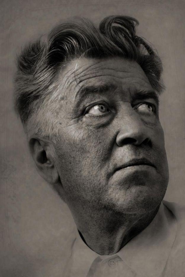 David Lynch Portrait (skewed)