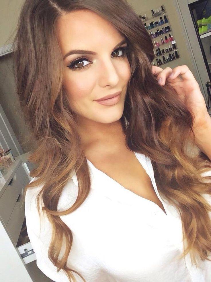 light brown hair selfie Gallery