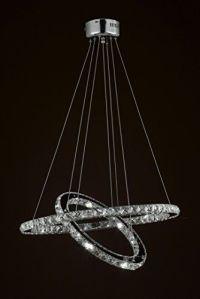 25+ best ideas about Led chandelier on Pinterest   Glass ...