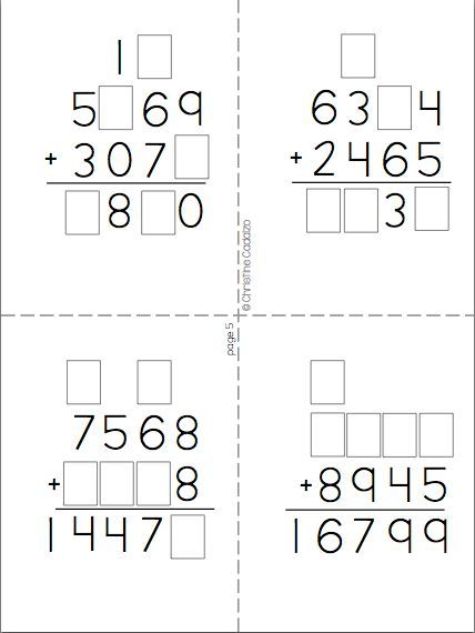 17 Best ideas about Number Puzzles on Pinterest