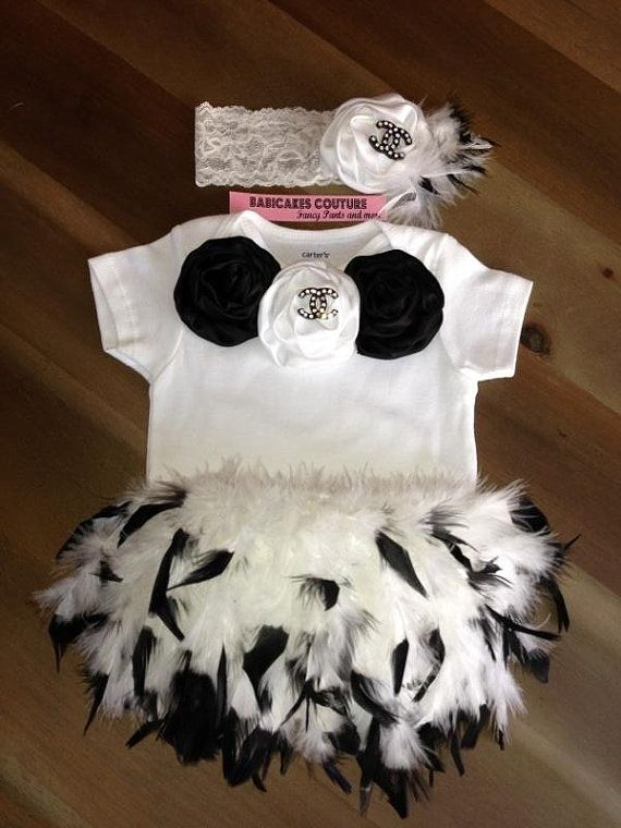 A Girl Should Be Two Things Classy And Fabulous Coco Chanel Cake Smash 1st Birthday Couture
