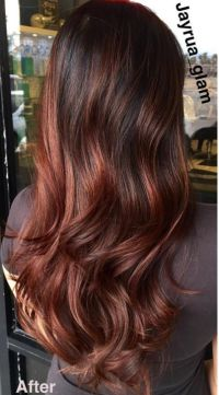 Introducing Cherry Bombre, the New Trend for Brunettes ...