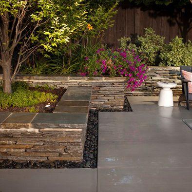 25 Best Ideas About Stone Planters On Pinterest Stone Garden