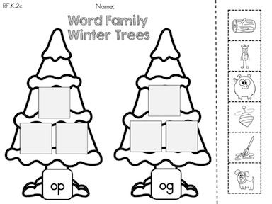 80 best images about WORD FAMILY PRINTABLES on Pinterest