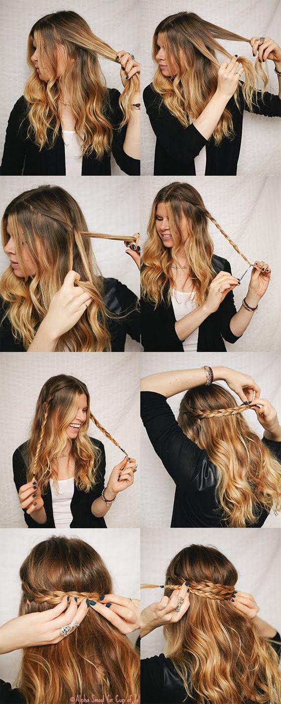 25 Best Ideas About Hippie Hair Styles On Pinterest Hippy Hair