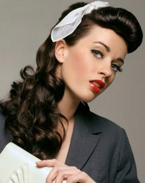 25 Best Ideas About 50s Hairstyles On Pinterest Vintage Hair
