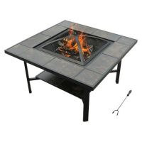 leisurelife 4-in-1 Coffee table /Grill/ Cooler / Firepit ...