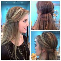 17 Best ideas about Headband Hairstyles on Pinterest ...