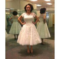15 Must-see Tea Length Wedding Dresses Pins | Short ...