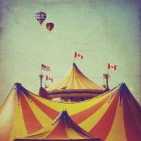 Circus photo big top childhood memories Canadian by ...