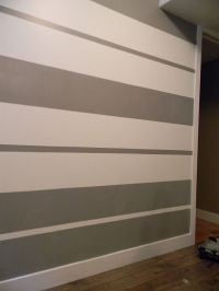 17+ best ideas about Striped Walls on Pinterest