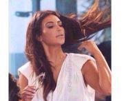 hair flip boom kim kardashian meme