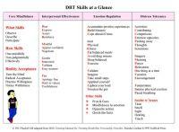DBT Skills at a Glance by Rachel Gill