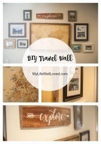 17+ best ideas about Travel Wall on Pinterest | Souvenir ...