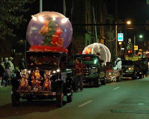 Snow Globe Parade Float Parade Floats Pinterest