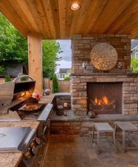 17 Best ideas about Outdoor Fireplace Patio on Pinterest ...